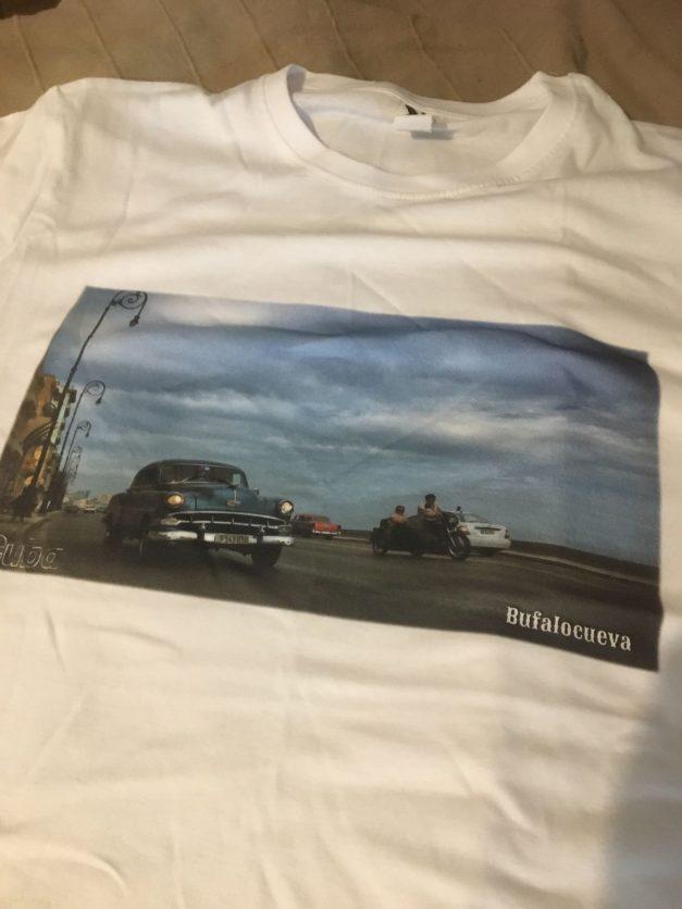Camiseta exclusiva Cuba