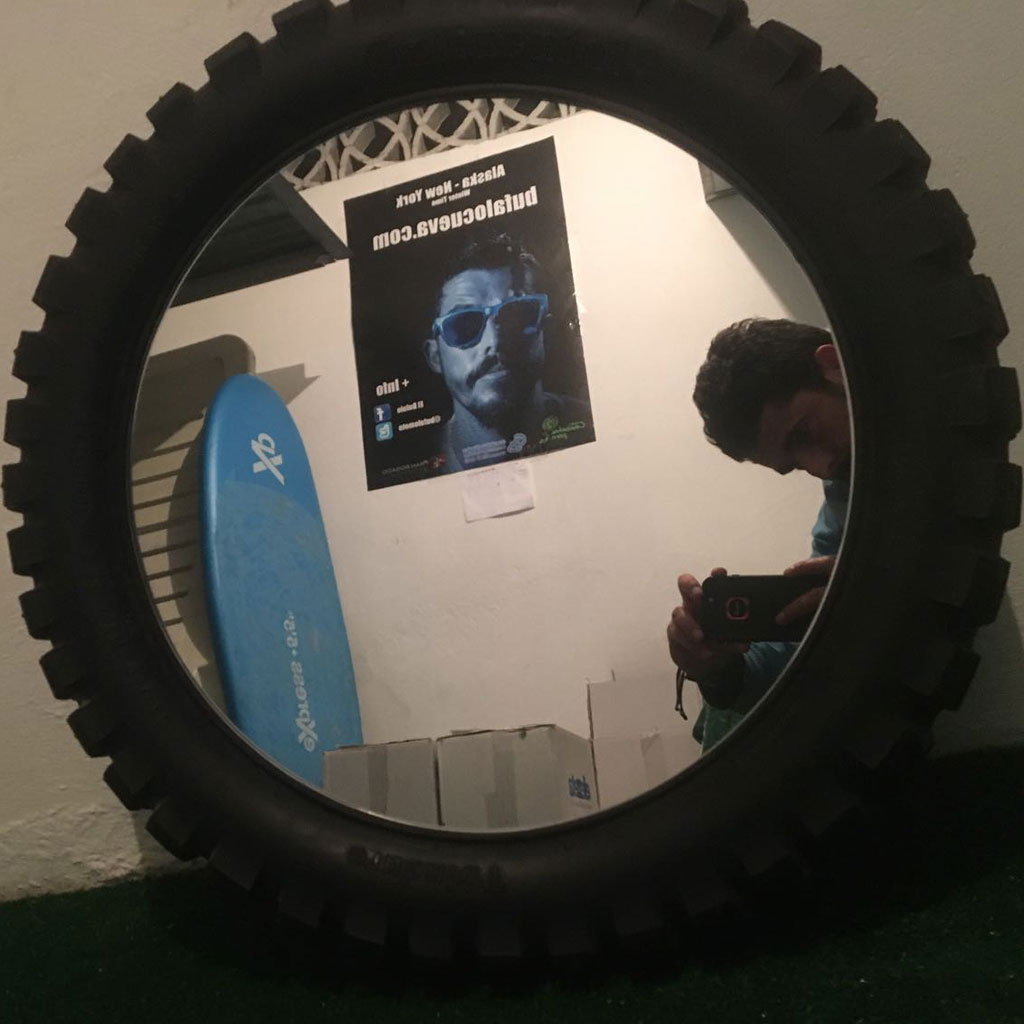 rueda espejo alaska new york